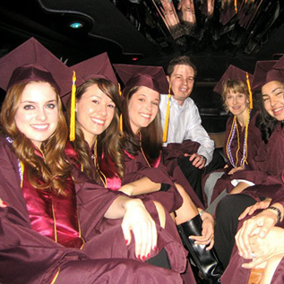 graduation Renee's Limousine, Minneapolis Minnesota