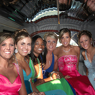 inside promo Renee's Limousine, Minneapolis Minnesota